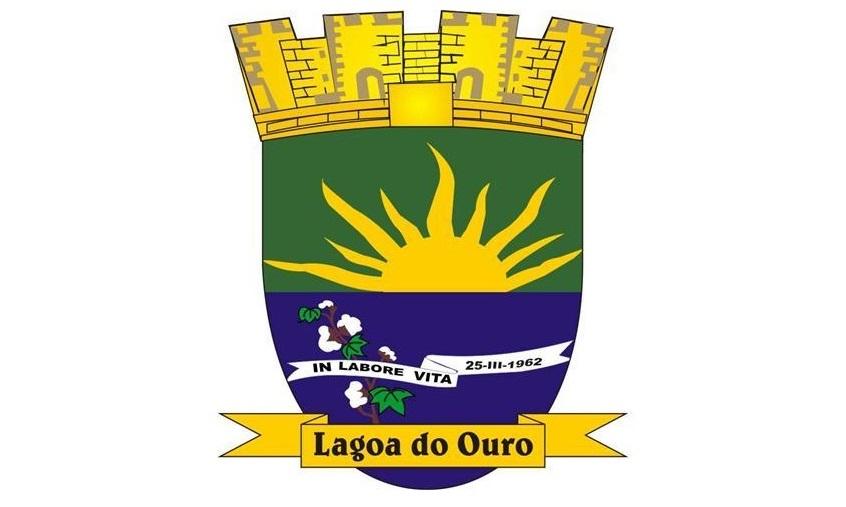 Brasão do município de LAGOA DO OURO