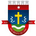 Brasão do município de S�O BENTO DO UNA