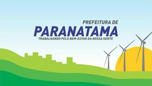 Brasão do município de PARANATAMA